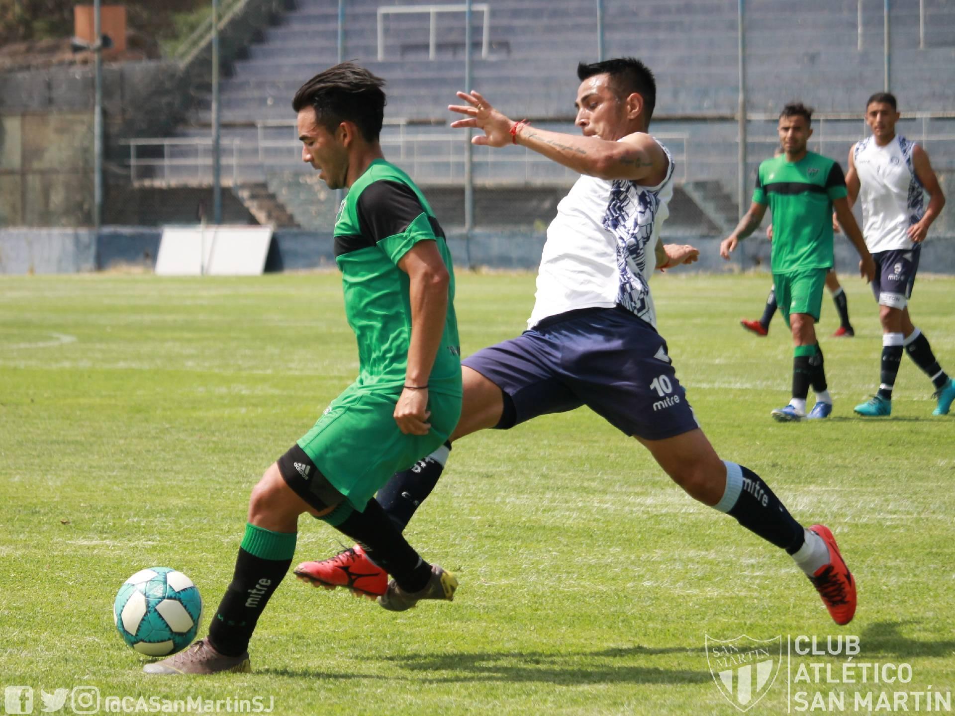 El gol de San Martín para la victoria ante Independiente Rivadavia en Mendoza