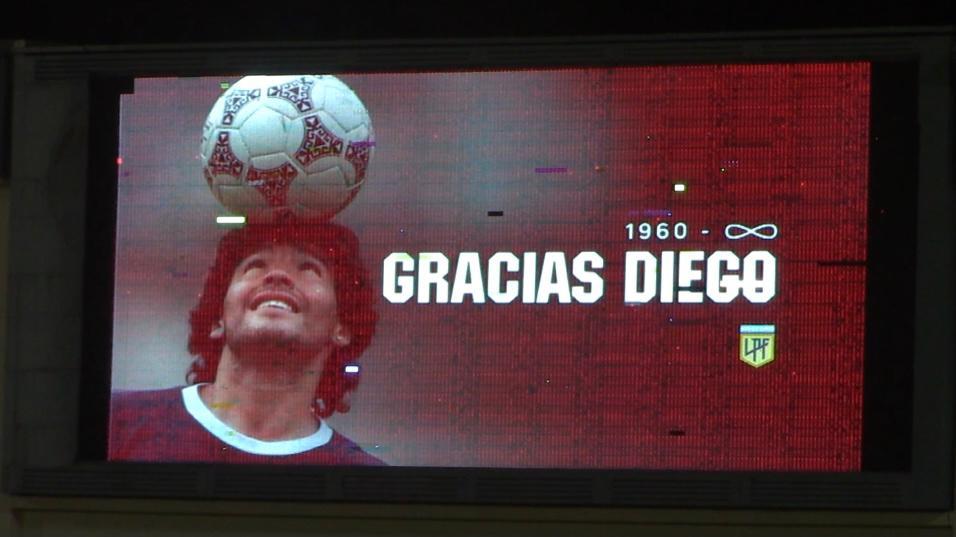 El gran homenaje de Godoy Cruz a Diego Armando Maradona
