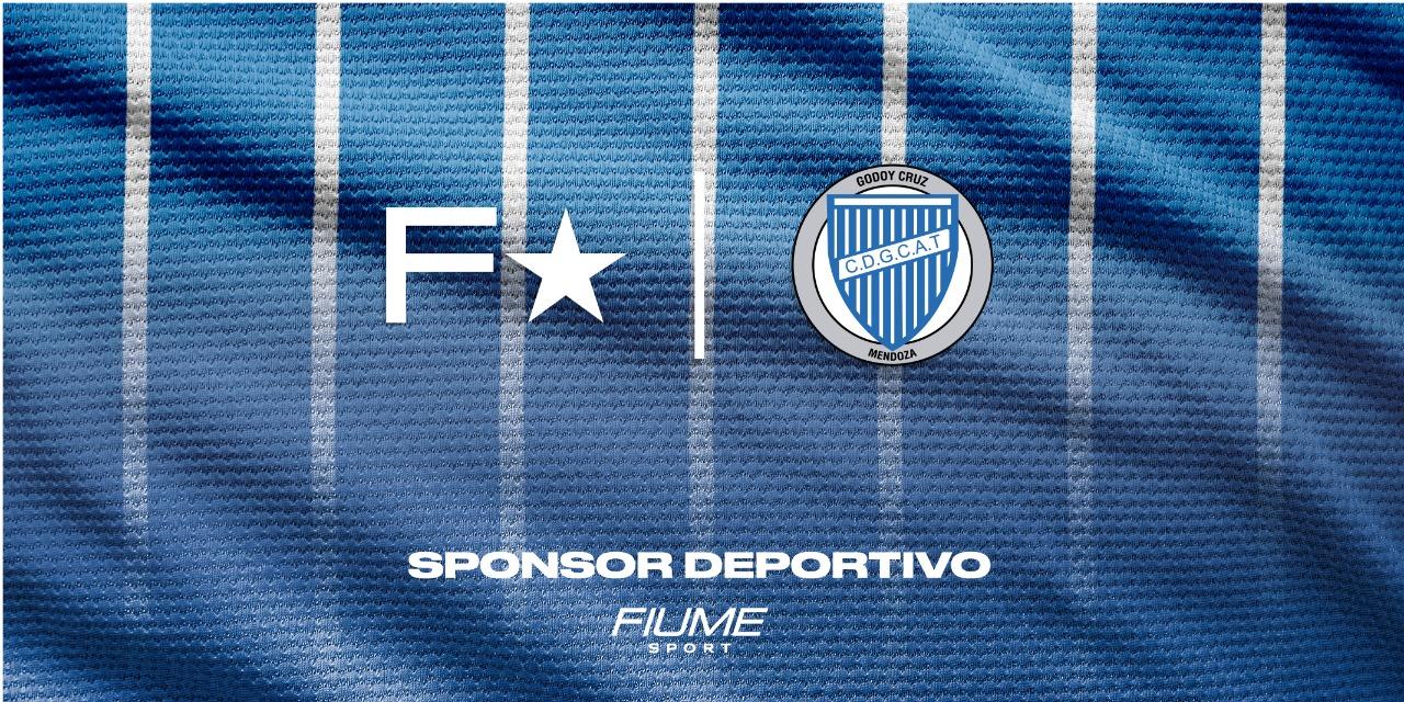 Godoy Cruz le dio la bienvenida a Fiume Sports como su nueva marca