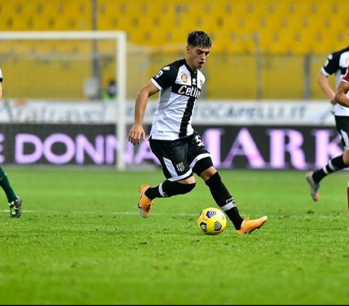 Debutó Brunetta en el Parma y los hinchas del Tomba se ilusionan