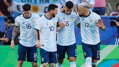 Así formará la Selección Argentina esta noche ante Perú