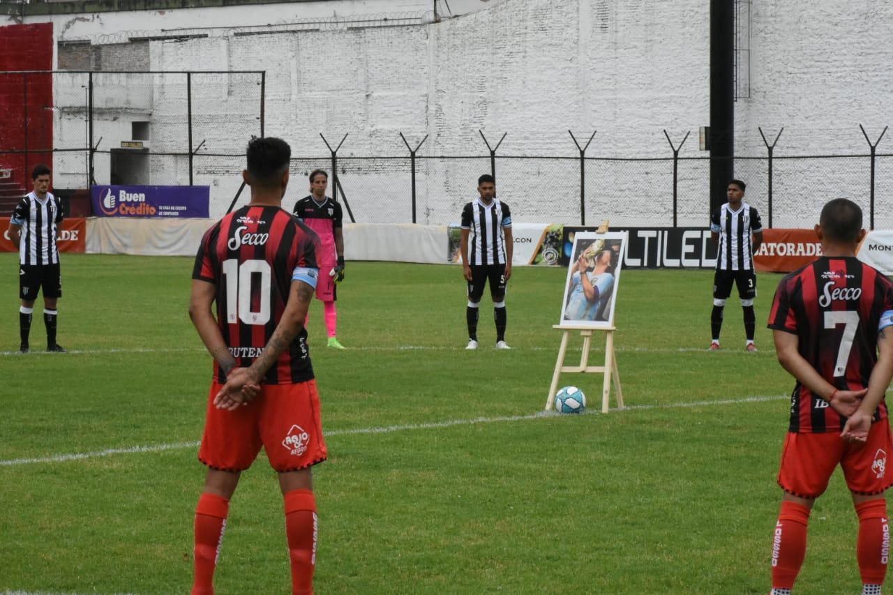 El Lobo empató sin goles ante Defensores de Belgrano