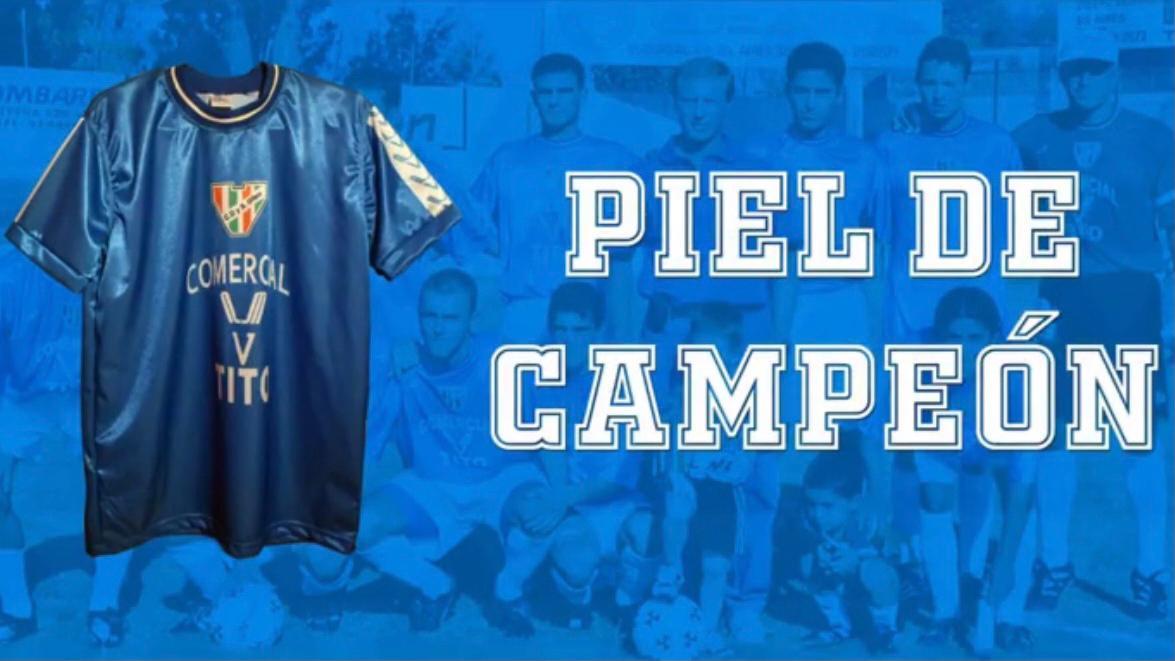 Piel de Campeón: la nueva camiseta de Guaymallén
