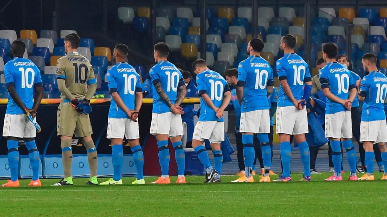 El hermoso gesto del Napoli con Diego Maradona