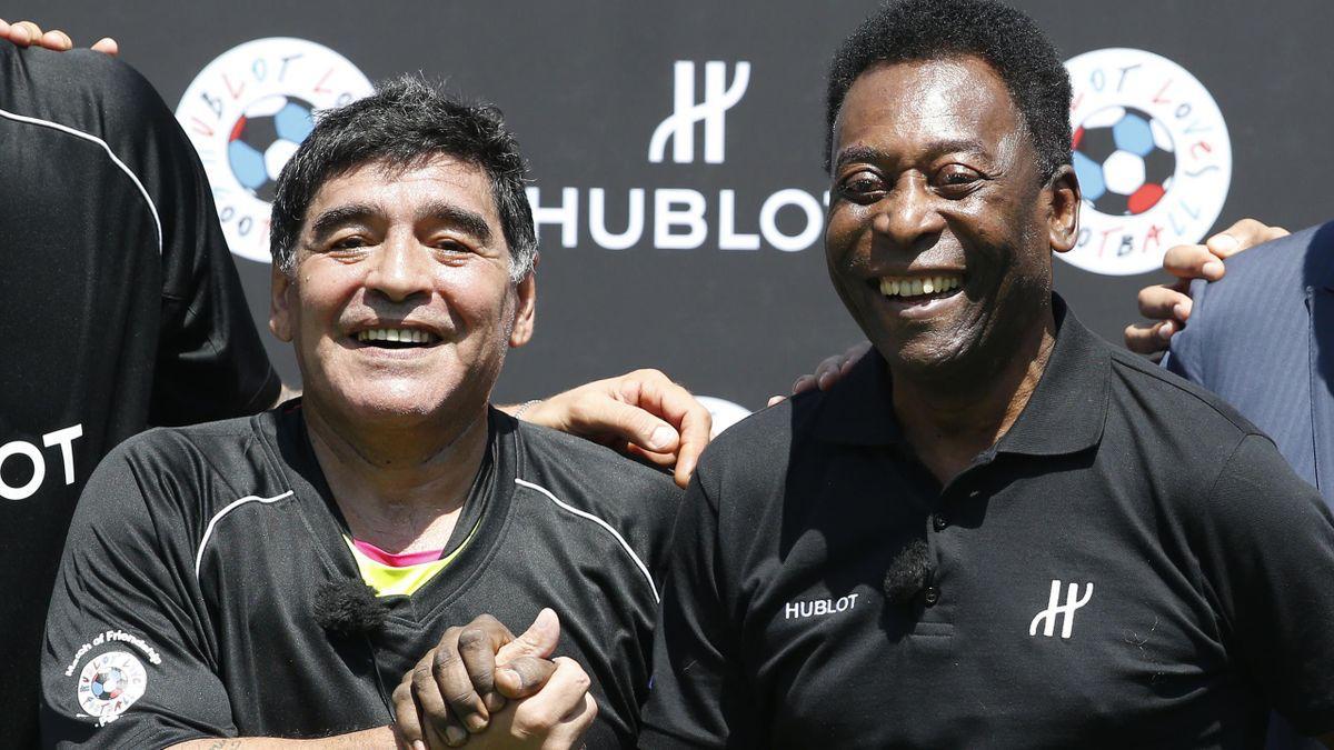 """Pelé: """"Espero que juguemos juntos al fútbol en el cielo"""""""
