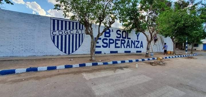Más murales en los barrios de Godoy Cruz por el aniversario del Tomba