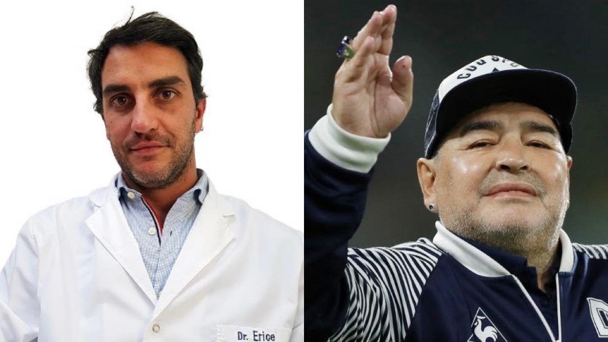 """El mendocino que operó a Maradona: """"Diego no es un paciente cualquiera"""""""
