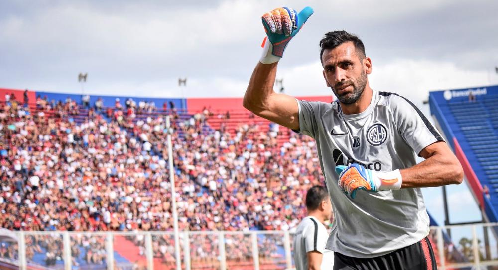 Se lesionó Sebastián Torrico en San Lorenzo