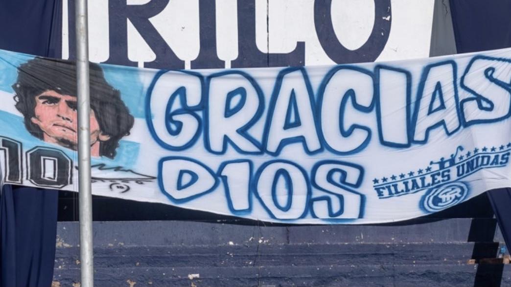 Video: el emotivo homenaje de la Lepra a Maradona en el Gargantini