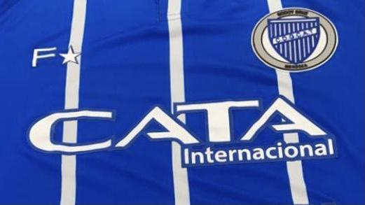 Un lujo: Godoy Cruz presentó su nueva camiseta rumbo al centenario