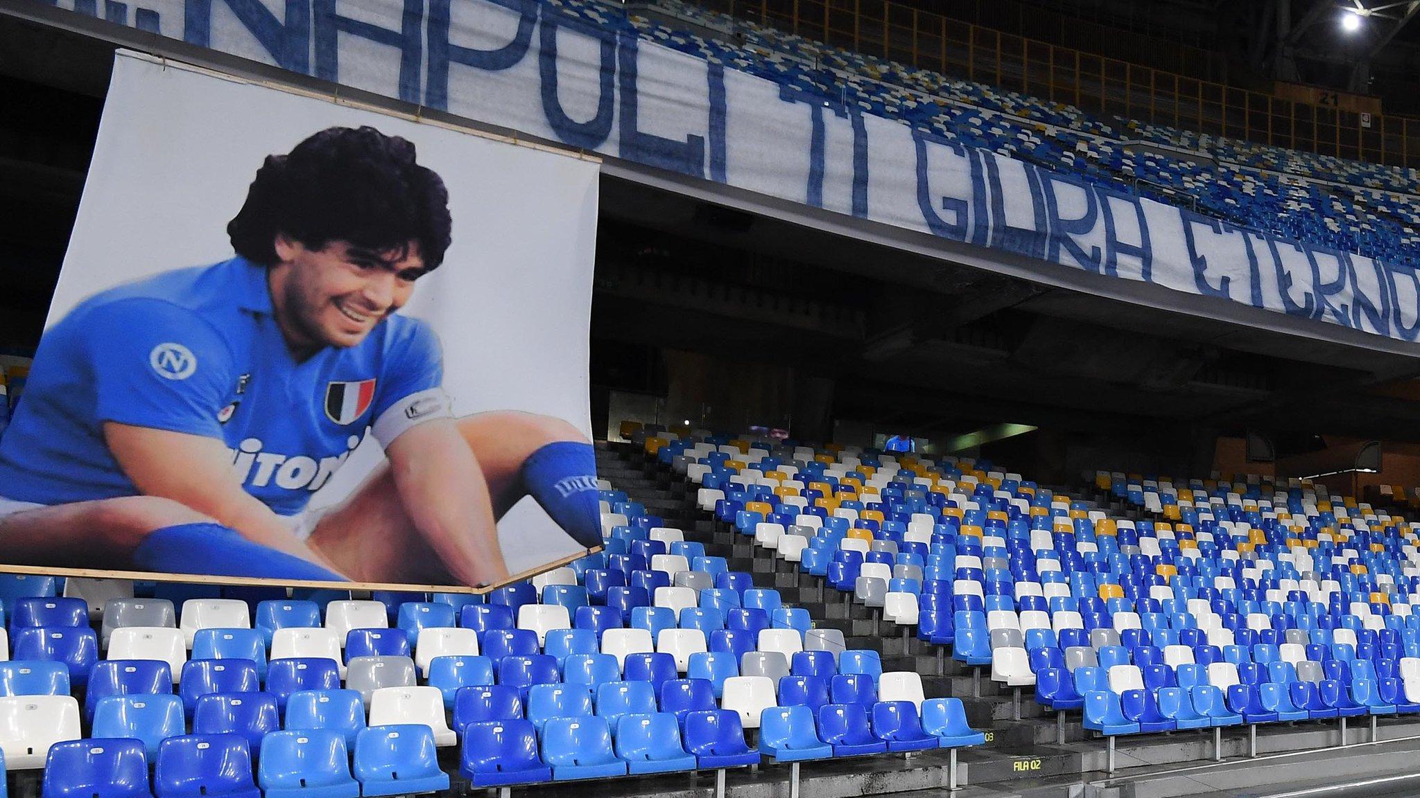 Napoli presentó el Estadio Diego Armando Maradona