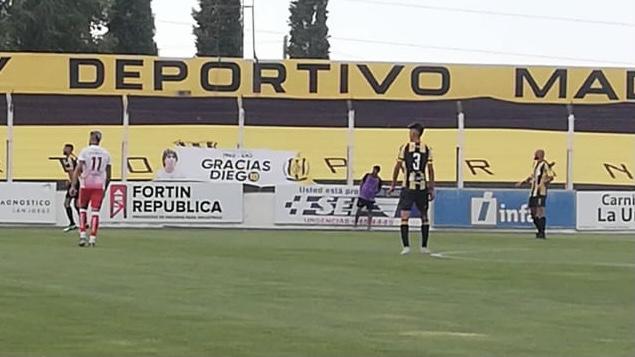 Huracán no pudo en el sur y perdió 1 a 0 Deportivo Madryn