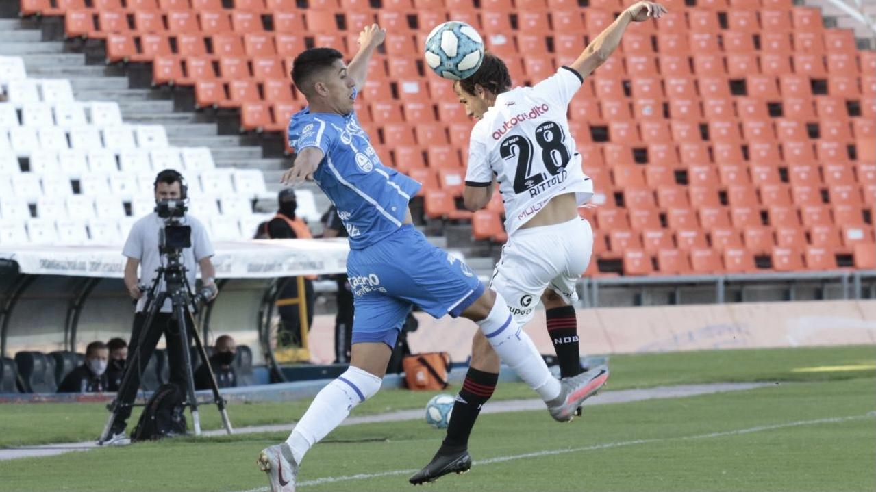 Godoy Cruz pierde 2 a 0 ante Newells en el Malvinas