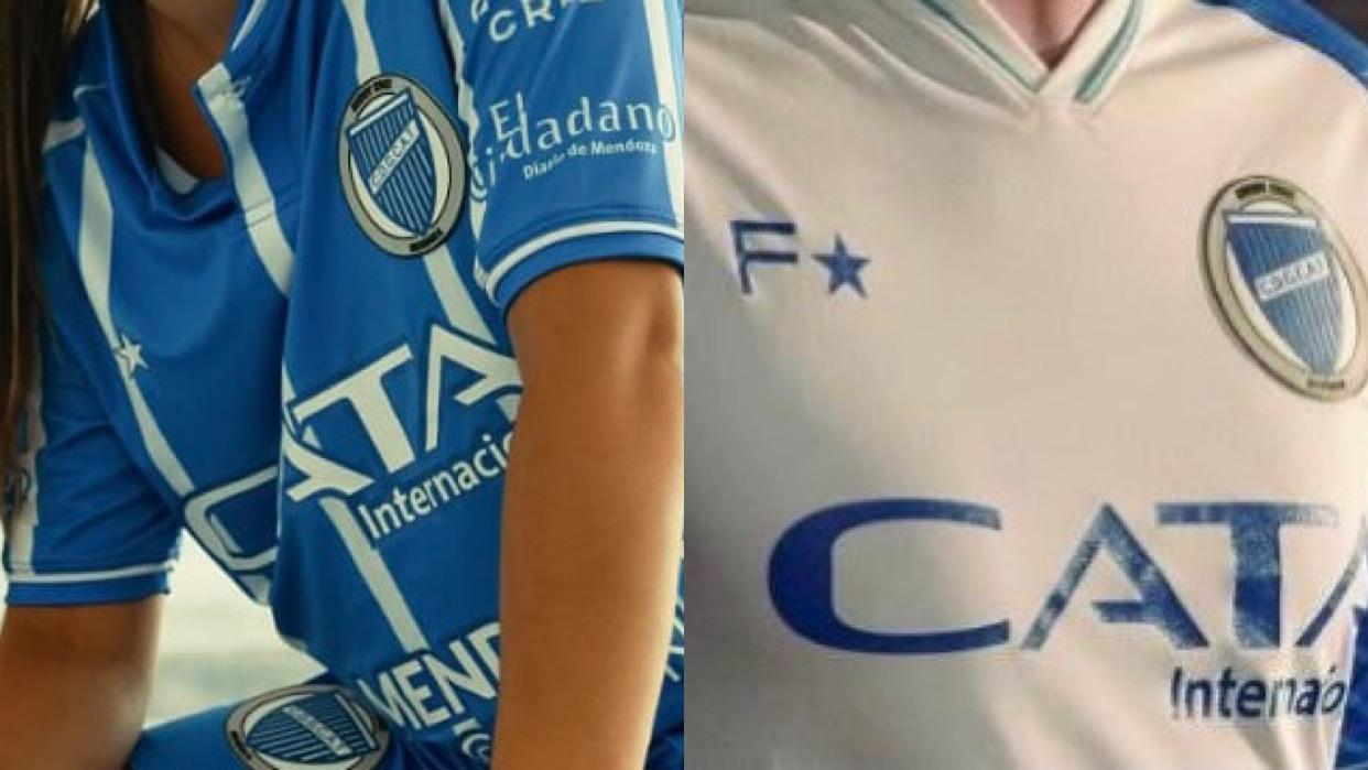 Las camisetas Godoy Cruz: lindas y muy caras