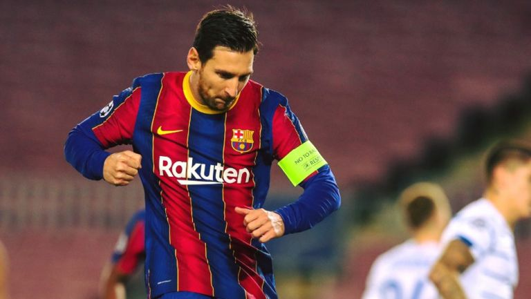 Video: Lionel Messi llegó a los 600 goles con la 10 del Barcelona