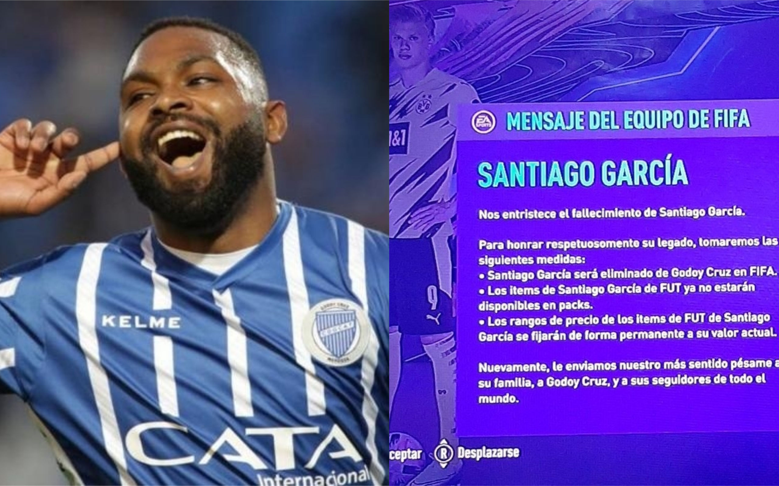 FIFA homenajeó al Morro García tras su fallecimiento