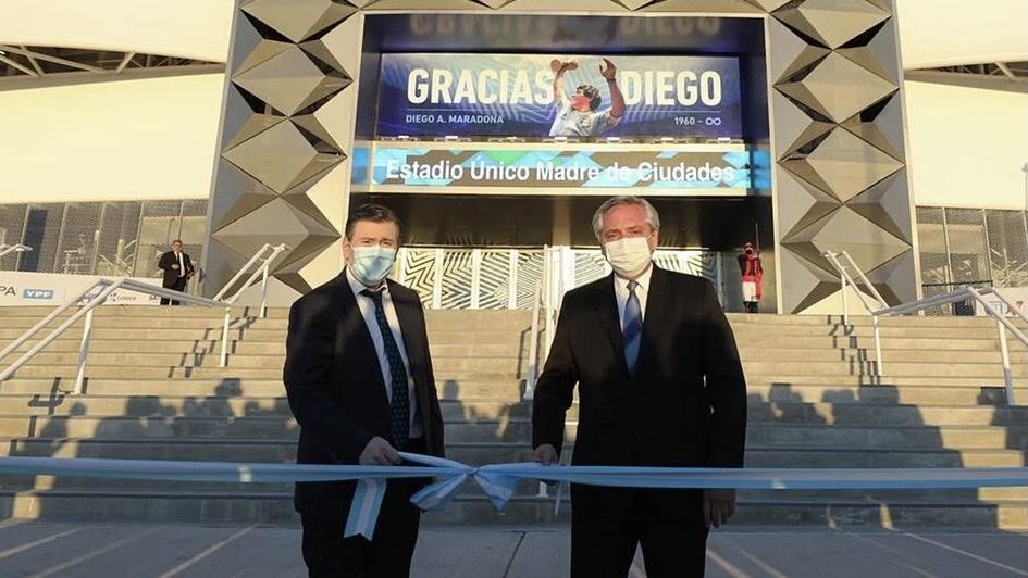 La polémica inauguración del estadio de Santiago del Estero, el más caro del país
