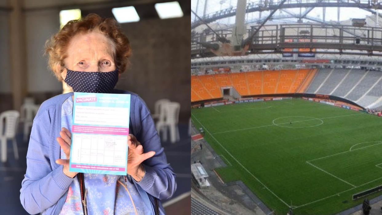 Suspendieron la vacunación en La Plata por el partido entre River y Atlético Tucumán