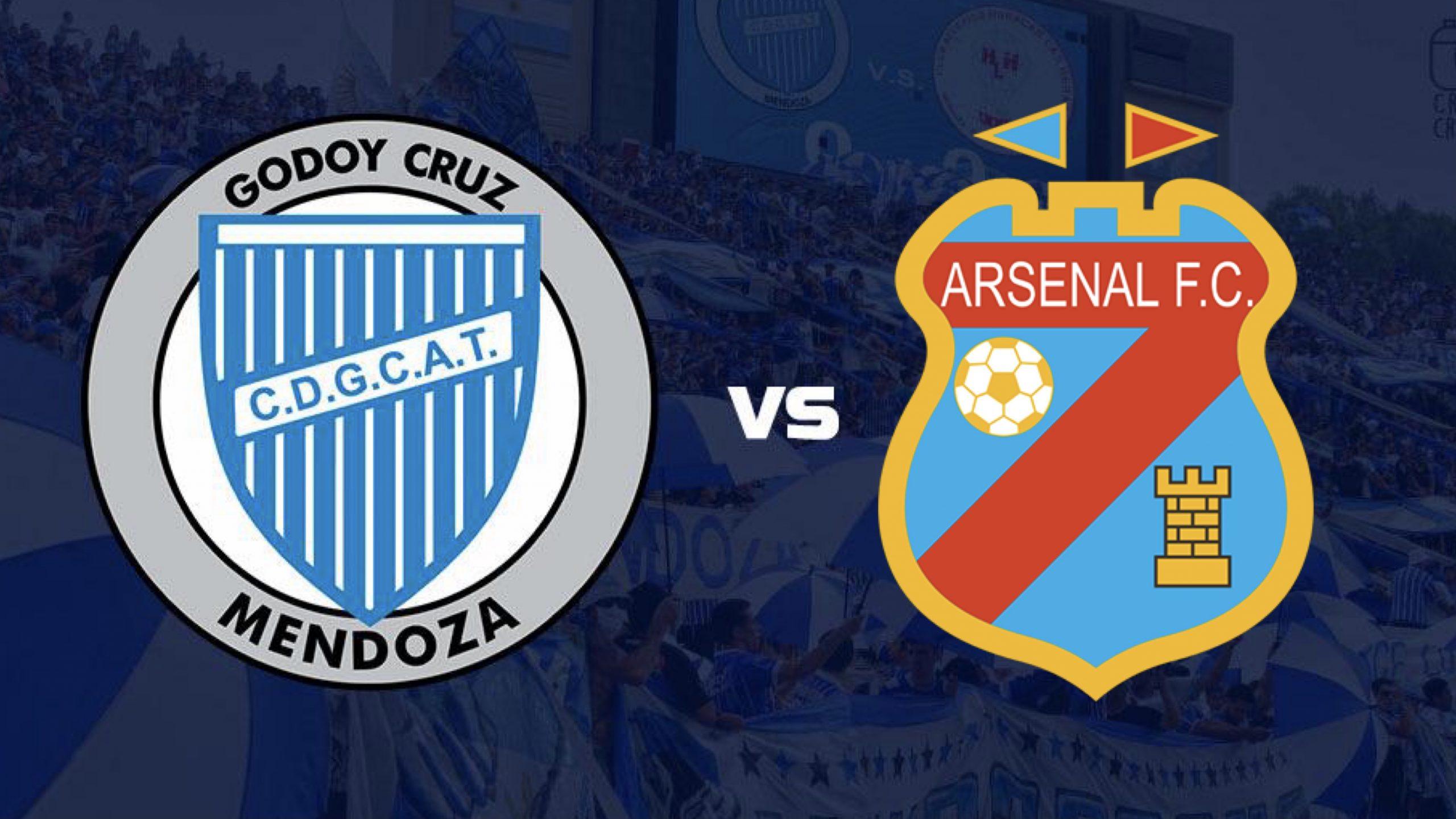 Godoy Cruz recibe a Arsenal en el Gambarte