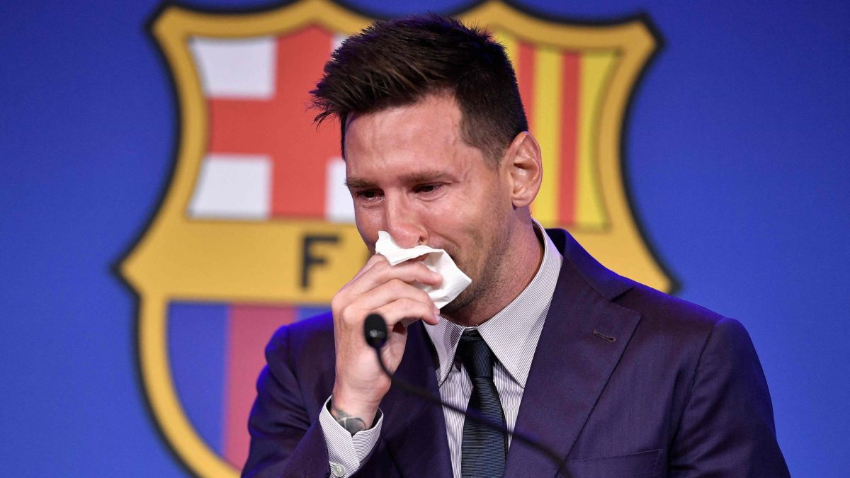 Video: la emotiva despedida de Lionel Messi de Barcelona