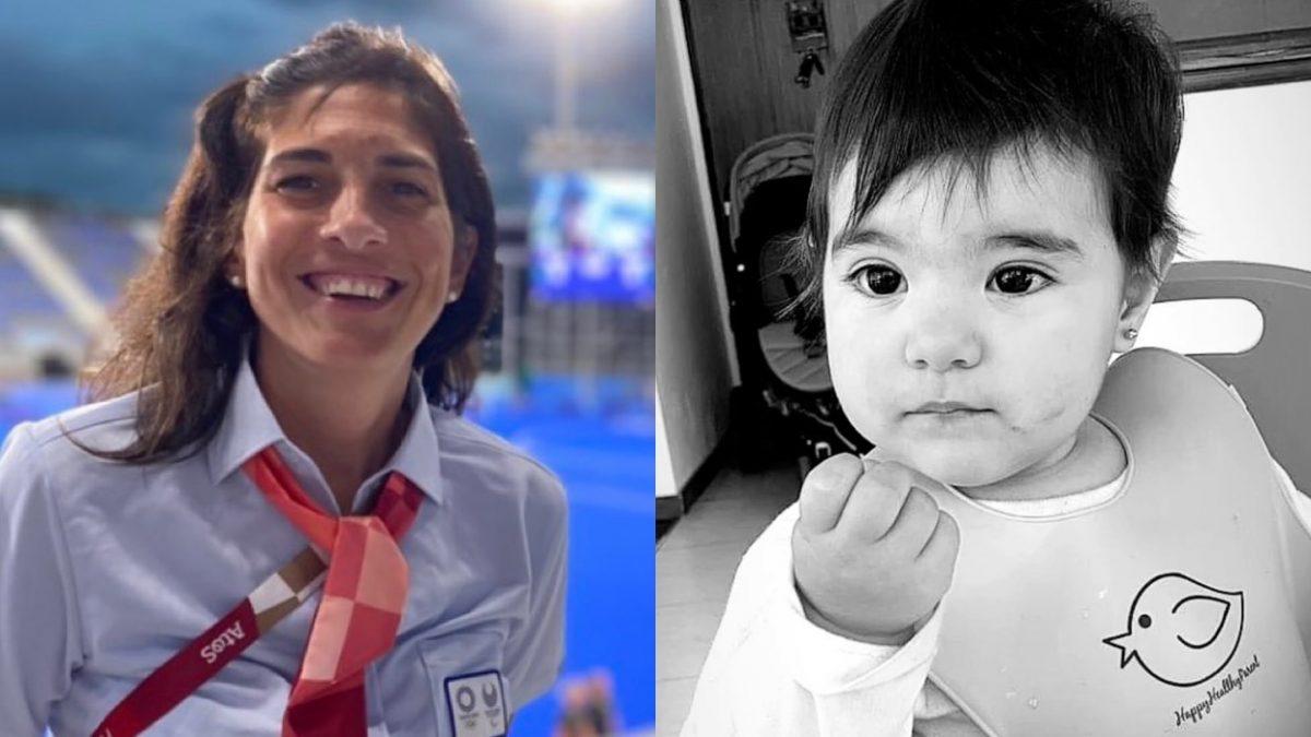 Fue a representar a Argentina a Tokio y pide volver para cuidar a su beba de 11 meses