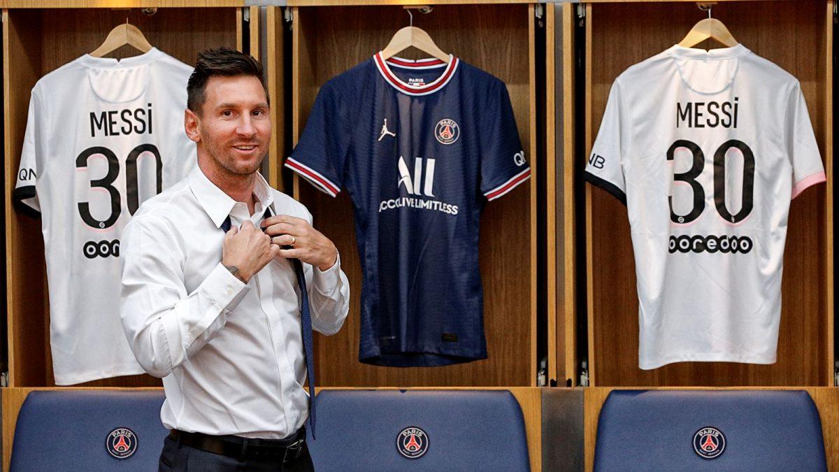 Cuánto vale la camiseta que usará Messi en el PSG