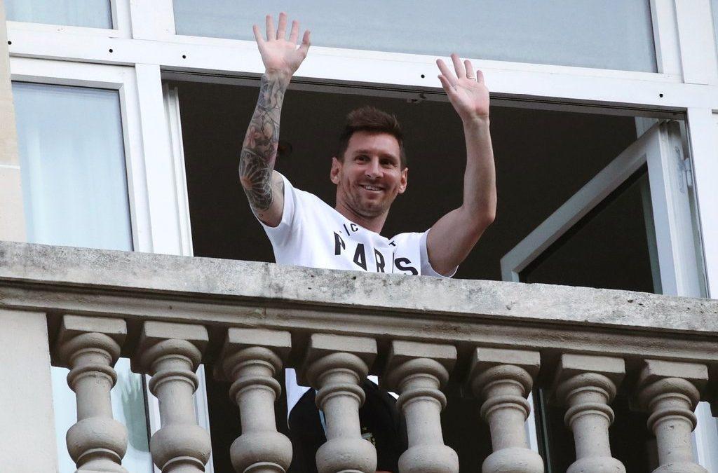 Messi llegó al PSG: ¿Cuando debuta?