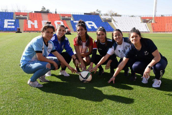 Histórico: comienza el campeonato de inferiores en el fútbol femenino
