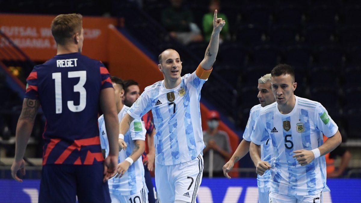 Video: Argentina le ganó 11 a 0 a Estados Unidos