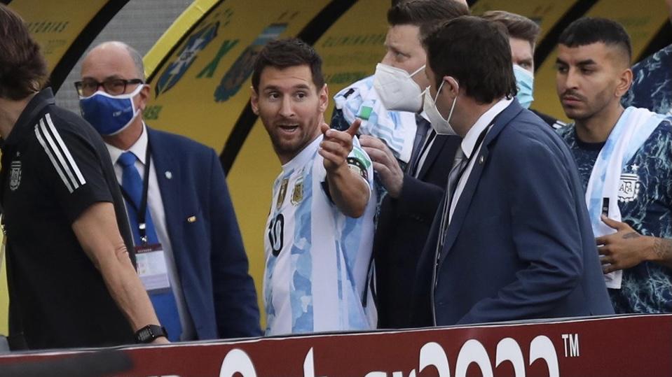 "Lionel Messi: ""Es una vergüenza"""