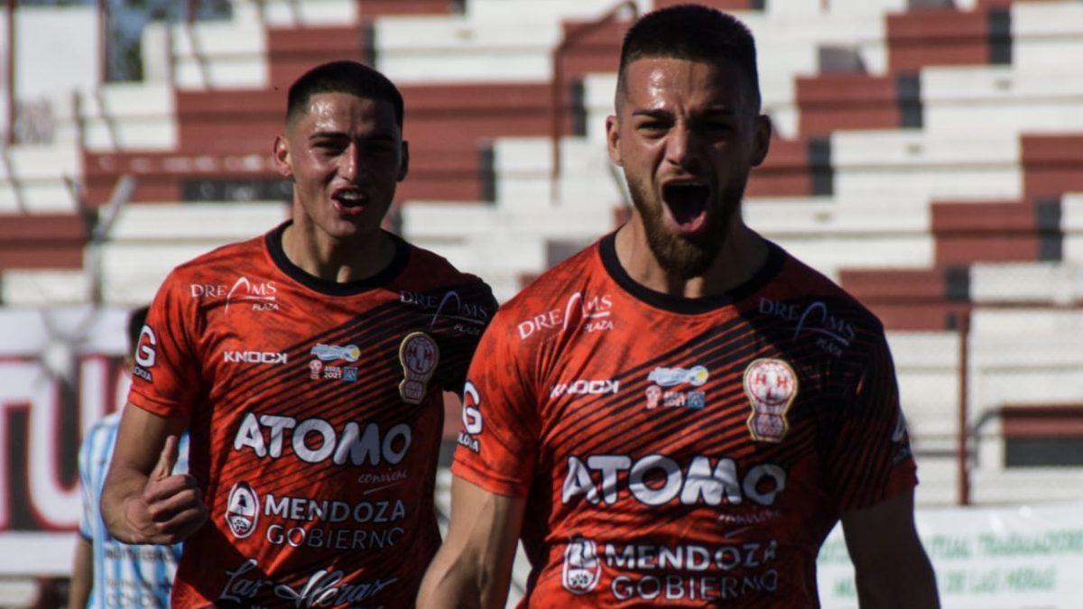 Huracán Las Heras le ganó 3 a 1 a Sol de Mayo