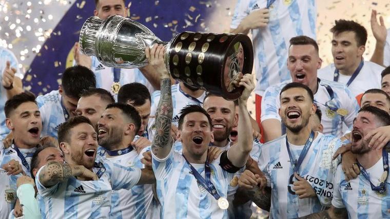 Juega la Selección Argentina, hoy juega el campeón de América