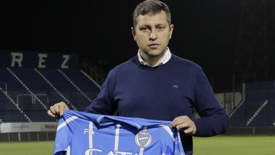 """Diego Flores: """"Voy a dejar la vida en Godoy Cruz"""""""