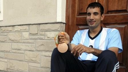 Federico Accardi, el mendocino que brilló en los Juegos Paralímpicos