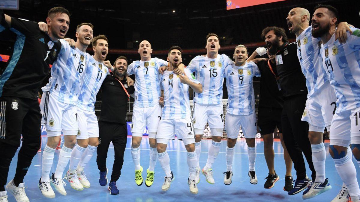 Argentina ya tiene rival en la final del mundial de fútbol de salón