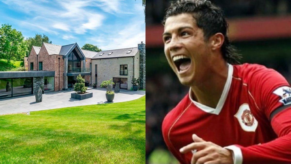 Un lujo: la nueva mansión de Cristiano Ronaldo en Manchester