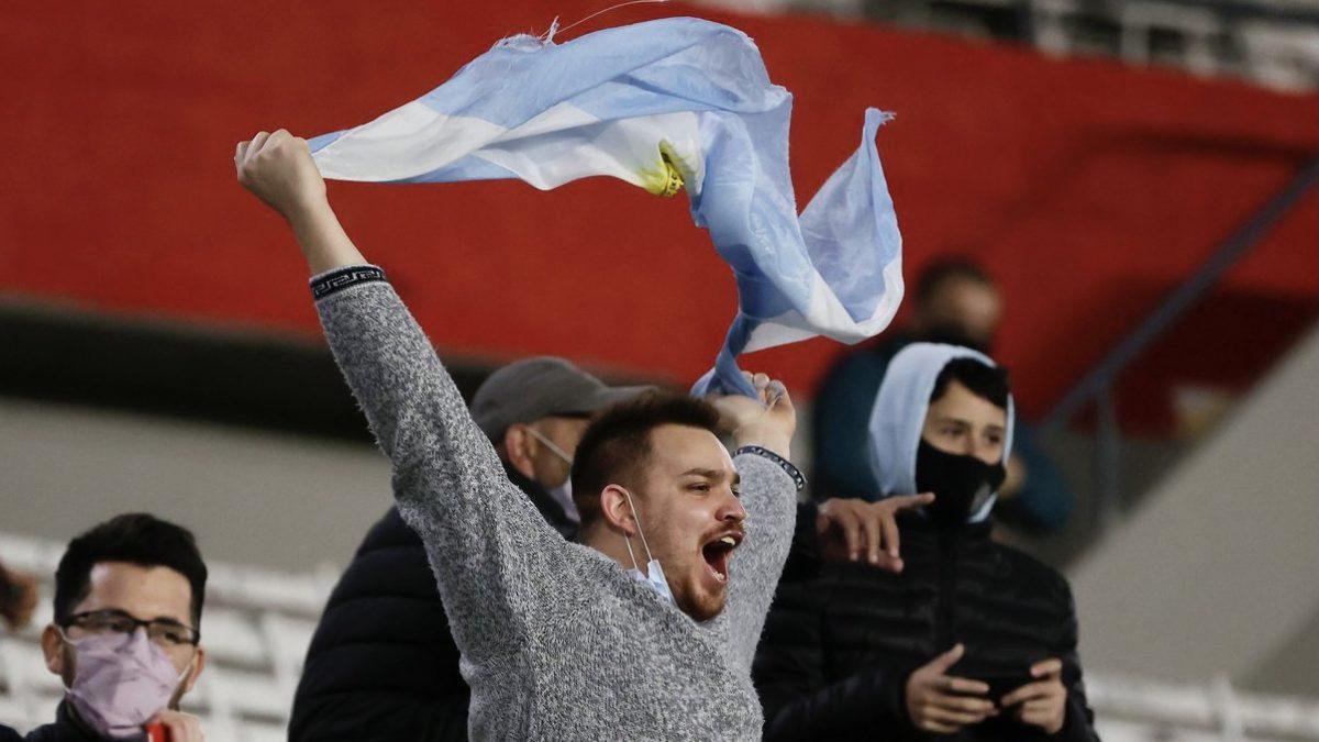 Video: la fiesta de los hinchas argentinos en el Monumental