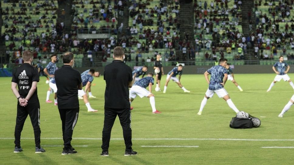 Un integrante de la Selección Argentina dio positivo de coronavirus