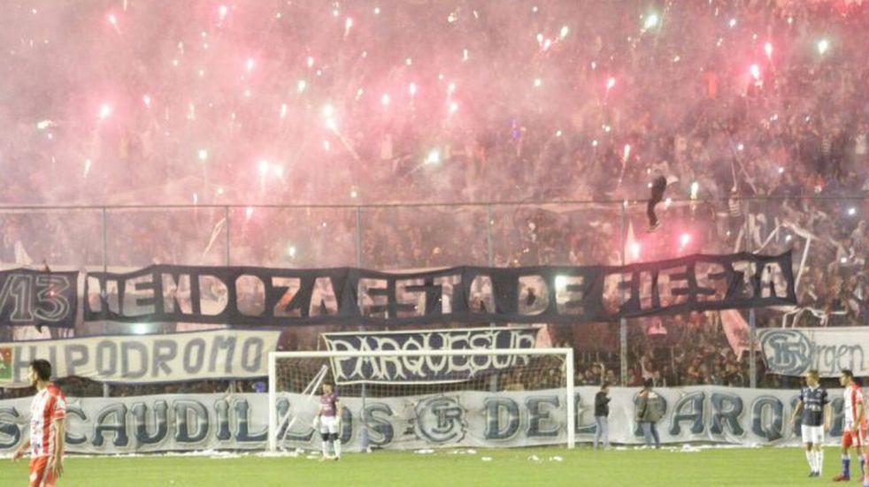 Los hinchas de Independiente Rivadavia vuelven al Gargantini