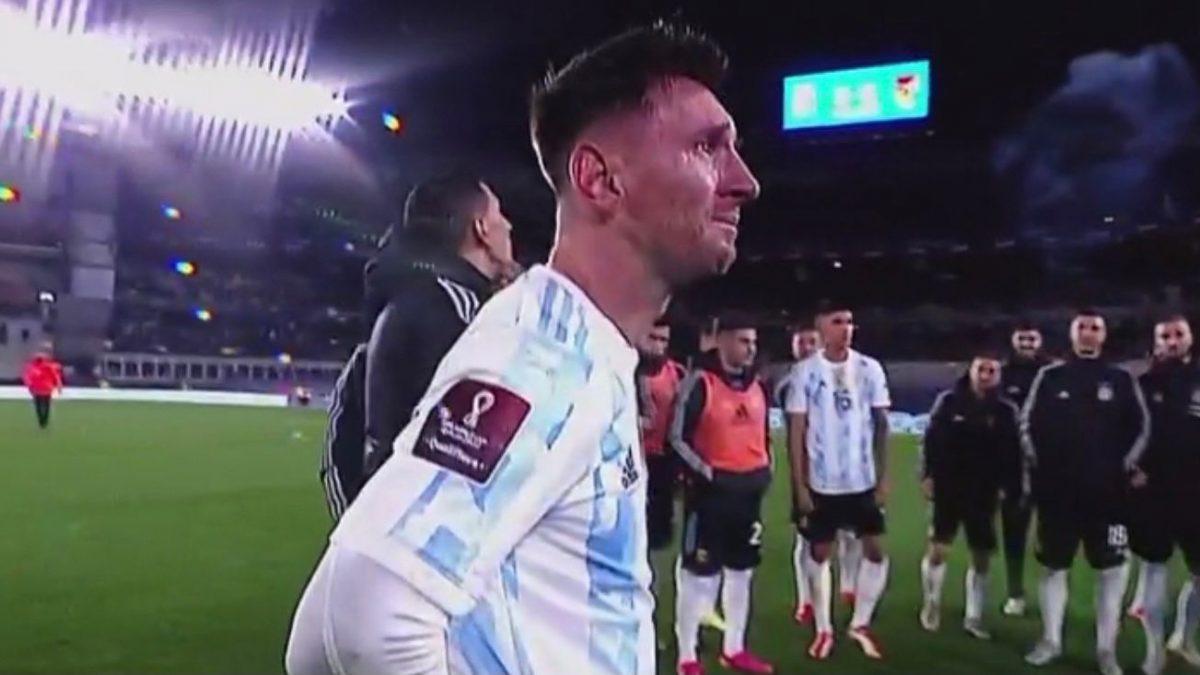 """Messi: """"Esperé mucho tiempo esto"""""""