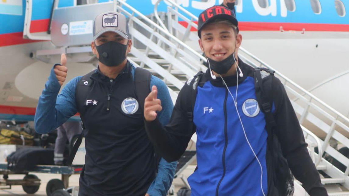 Godoy Cruz llegó a Córdoba para enfrentarse a Racing