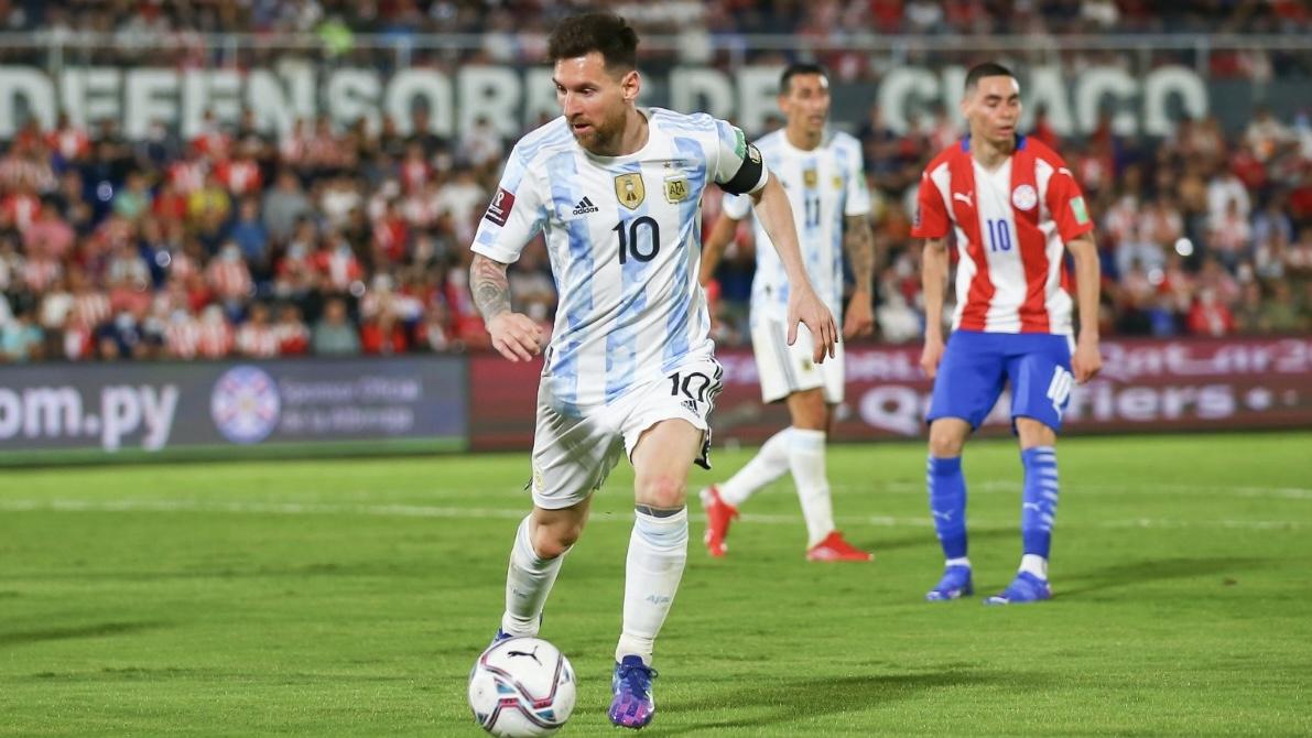 Argentina empató ante Paraguay en Asunción